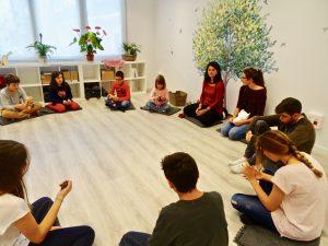 Burbujas de paz - Mindfulness con niños